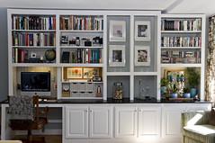 workspace project | the end (heather.dyan) Tags: work nikon desk space books storage workspace bookcase lotsofnotes 18200mm d90 pioneerwomanactions cinnamonrosepresets