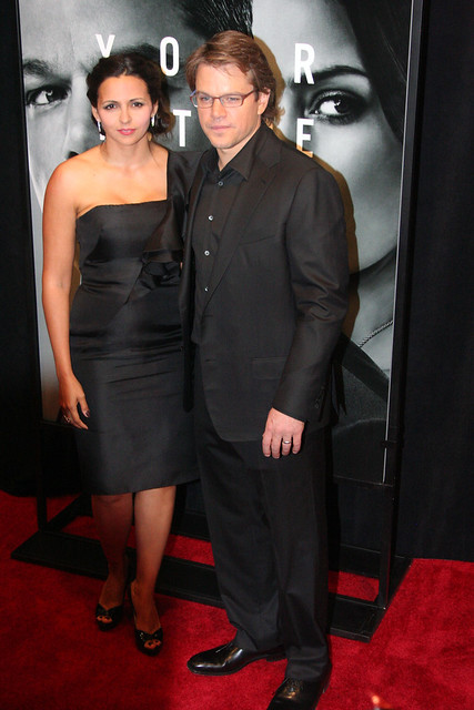 Matt Damon and Luciana Damon by ellasportfolio