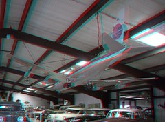 PATE MUSEUM INSIDE-4 (REDFURD) Tags: pate museum 3d red cyan anagylph aircraft