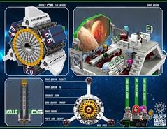 Queen Aurora 26 (messerneogeo) Tags: messerneogeo robot mech mecha ninja ganzo spaceship battleship queen aurora lego