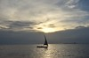 Just Sailing (The Spirit of the World ( On and Off)) Tags: sailboat dhow sailing sun light sunset clouds sky evening silouettes zanzibar island ocean sea seascape indianocean eastafrica africa water tanzania