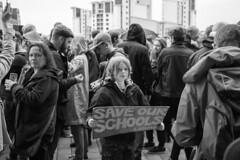 Save Our School - Mono (Rob.900) Tags: thesage gateshead politics labour labourparty election