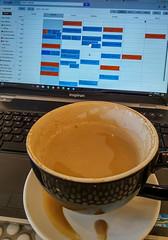 Coffee & (javajoba) Tags: coolbeans coffee latte googlecalendar todolist phone lgg3 jackkennard monday morning organize business