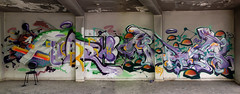 F4 x Racr (FORK4 / AFX / SW307 / UBS) Tags: fork fork4 afx racr 2017 abadoned area place spray graffiti typograffiti