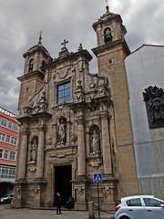 A Coruña (Rafa Gallegos) Tags: galicia acoruña españa spain iglesia igrexa igreja church iglesiadesanjorge piedra stone antiguo old