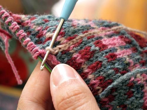 tricotar a cores
