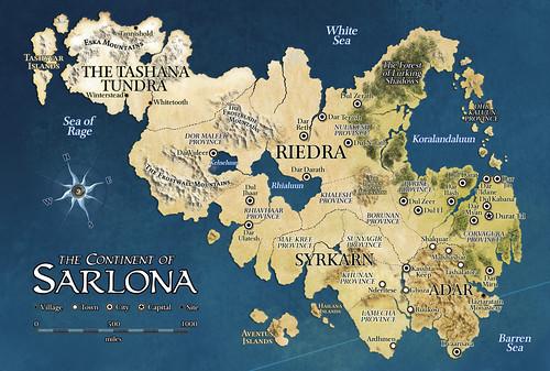Map of Sarlona