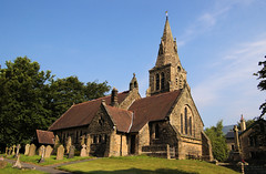 Holy Trinity Church, Edale. (Mike Serigrapher) Tags: church geotagged district peak holy trinity edale
