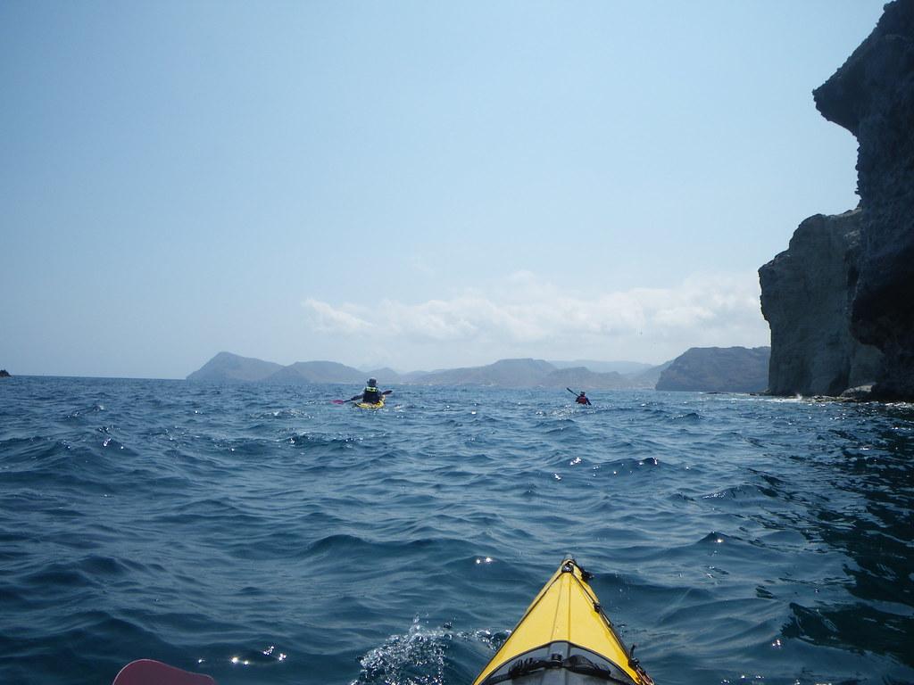 Cabo de Gata en kayak 180