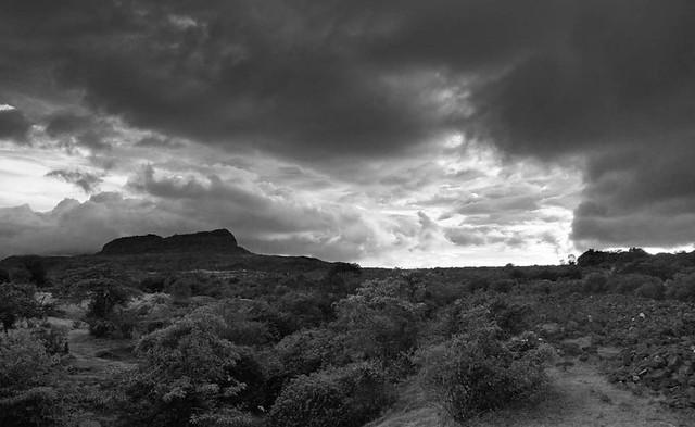 cloudscape near Koraigad, Lonavala