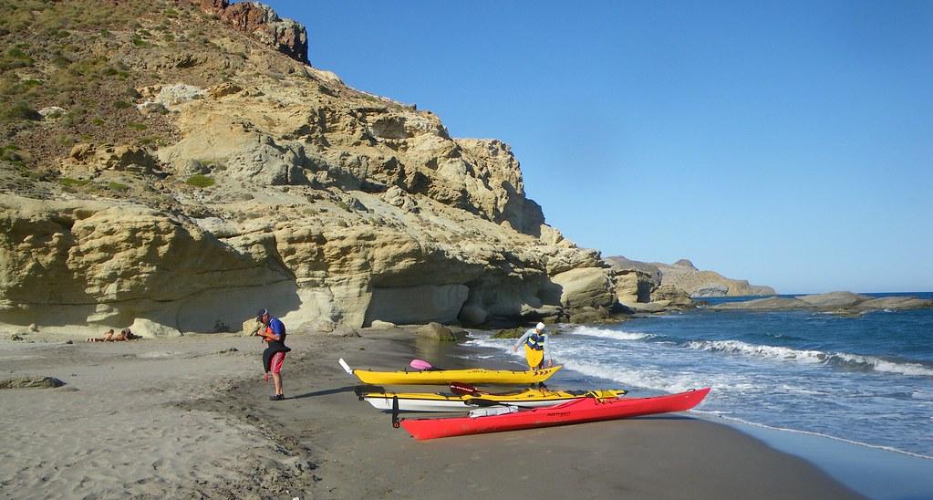 Cabo de Gata en kayak 558
