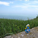 Smurfette at Lake Michigan, Wisconsin