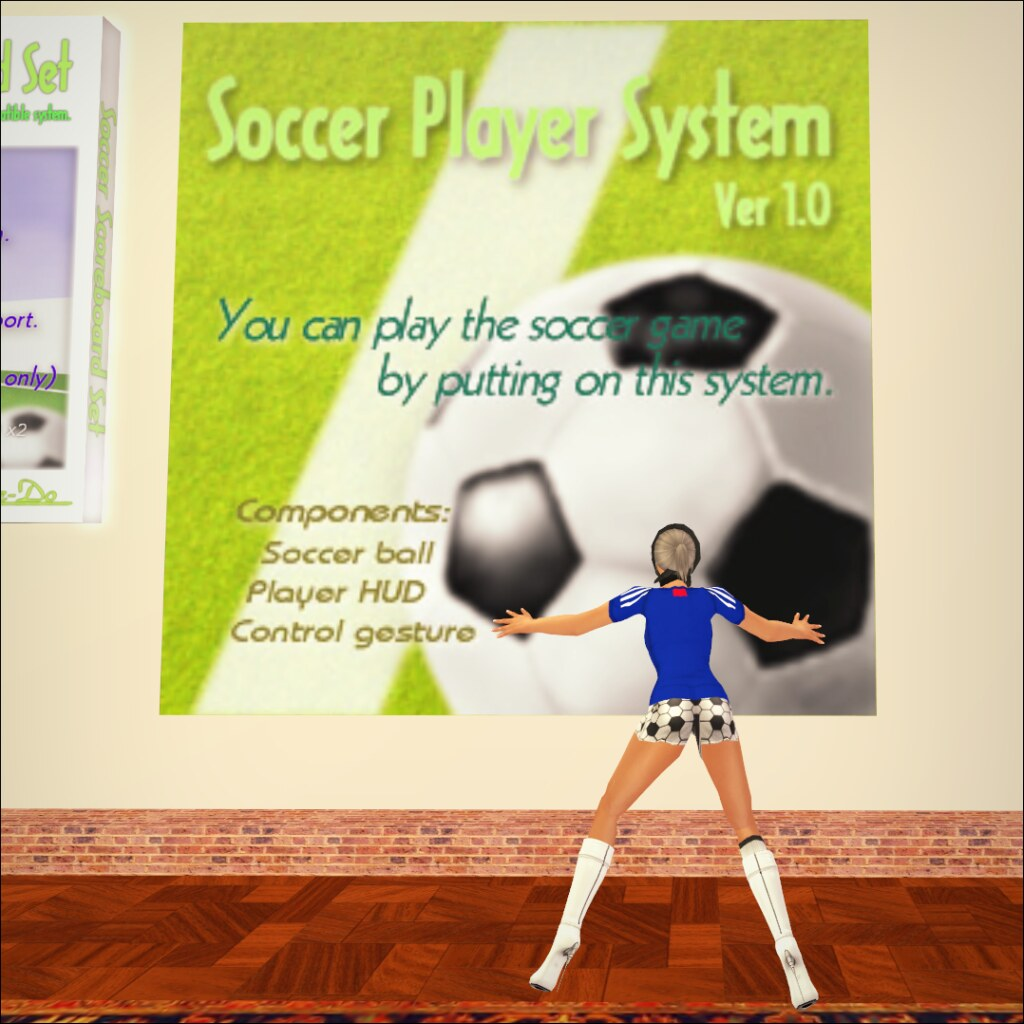 Soccer Player System 1.0c(gift!!)