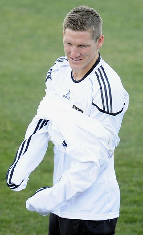More Pictures of Sebastian Schweinsteiger