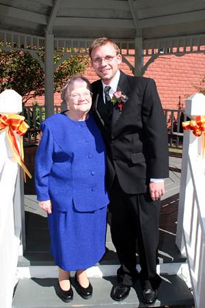 groom & grandmother