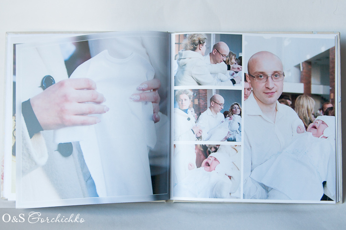 Фотокнига Крещение Андрюши