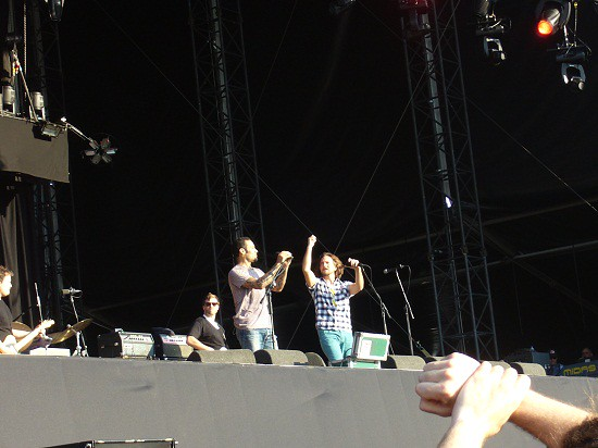 Ben Harper & Eddie Vedder