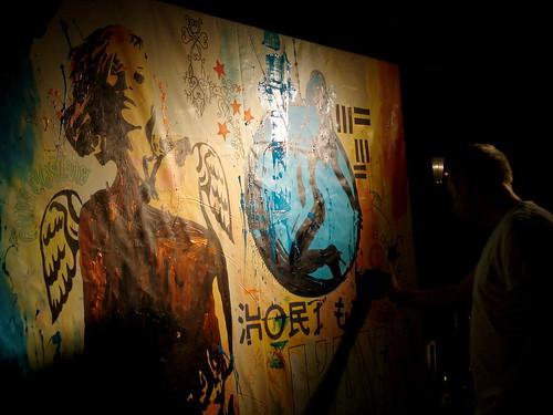 El Ayoun LIve Painting