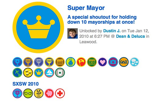 Foursquare mayorship