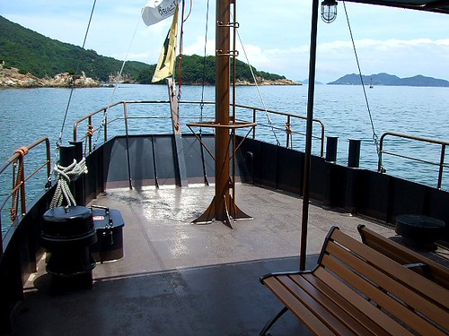 福山 鞆の浦 平成いろは丸、龍馬の乗った船で、仙酔島へ2