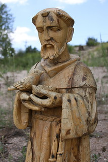 Wood Statue of Saint Francis of Assisi