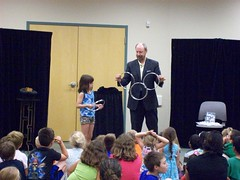 ys-srp-kick-off 011 (eg_library) Tags: magician summerreadingprogram eastgreenbushlibrary jimsnack