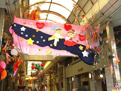 福山市 本通商店街で七夕まつり!例大祭には大盛り上がり!