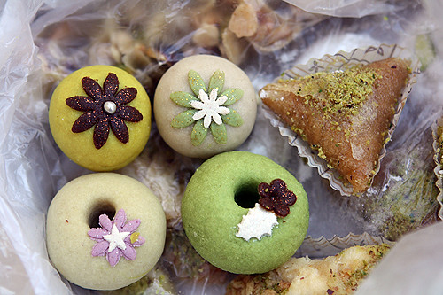 beautiful North African pastries