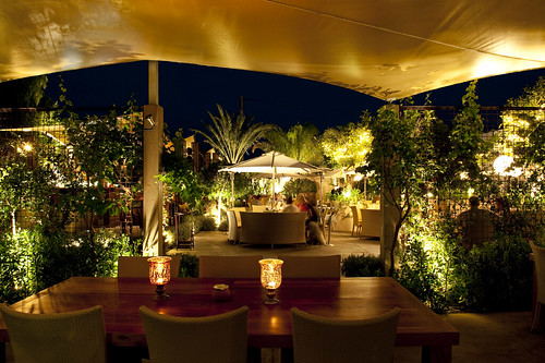 Aura Ibiza, Ibiza restaurant and lounge bar