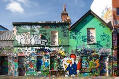 A different look (Ignacio Lizarraga) Tags: ireland dublin color graffiti windmilllane zyber nikond90 vanagram dsc03880282