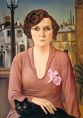 Christian Schad, Marcella, 1926 (kraftgenie) Tags: cat germany weimar schad