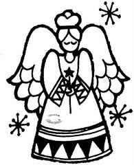 Anjo (Luciana de Campos) Tags: anjos riscos aplicao patchcolagem