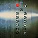 Unusual elevator control panel