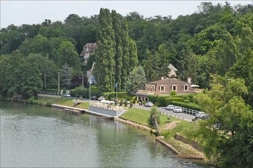 Les bords de l'Oise à Neuville