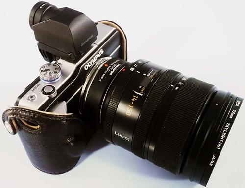 PANASONIC LEICA D VARIO-ELMAR 14-150mm/F3.5-5.6 ASPH./ MEGA O.I.S.