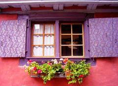 A window in Alsace, France (DomiKetu) Tags: travel windows france building window architecture europe alsace fenêtres expressyourself eguisheim colorphotoaward flickraward colorartaward platinumheartaward artlegacy gününeniyisithebestofday colorsinourworld platinumpeaceaward dwwg tripleniceshot flickraward5 éguisheim