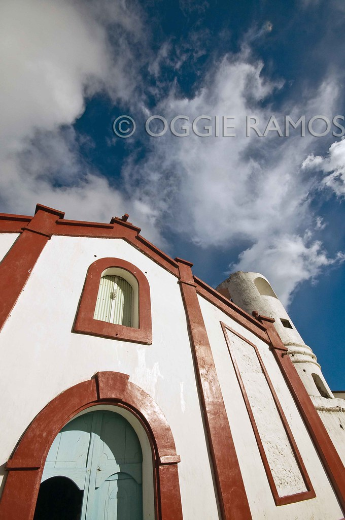 Batanes Itbayat Sta Maria Church Skywards