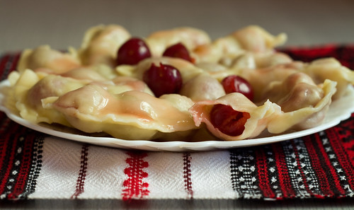 Ukrainian Cherry Dumplings, or Vareniki
