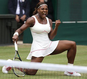 Serena Williams wins for the fourth time at Wimbledon in the UK. This was her 13th major win. A documentary has aired highlighting her trip to Kenya to encourage education and technological development. by Pan-African News Wire File Photos