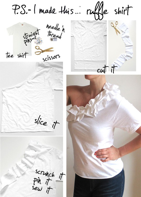 P.S. I Made This t-shirt refashion tutorial