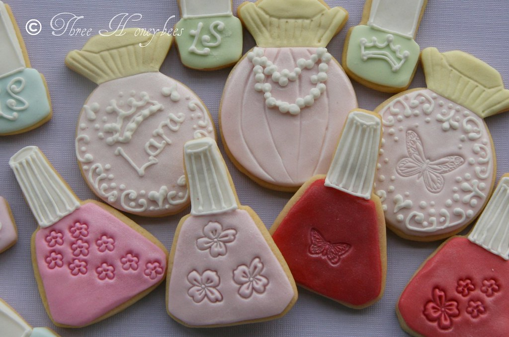 Girly Make-up Cookies