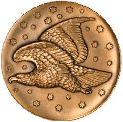 Gobrecht Coin Designer medal obverse