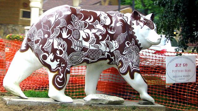 Cherokee Bear: Pottery Bear