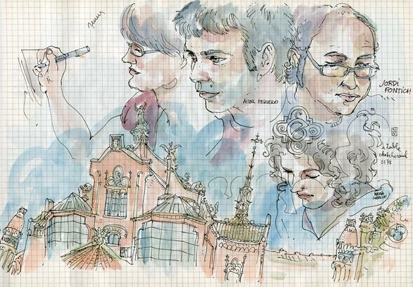 sketchcrawl #27.2 in barcelona