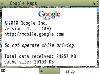 Screenshot Google Maps4.1.1