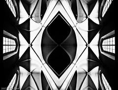 Gothic (jetrated) Tags: vienna wien white abstract black church architecture dark austria lowlight availablelight gothic ceiling mirrored zwart wit architectuur hofburg gotisch augustinerkirche religiousbuilding allrightsreservedcopyright©chaimfrank