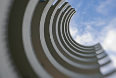 (craiginvan) Tags: sky cloud vancouver buildings balcony curves photooftheday 24hrs
