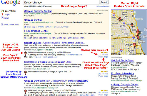 Google Maps Right SERPs