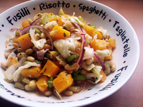 Sweet Chilli and Butternut Squash Salad