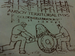 Amboy Territorial Days 50th Anniversary stamp